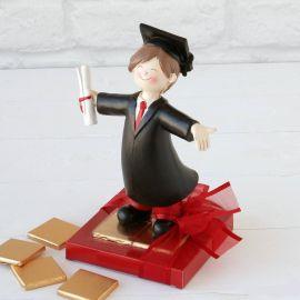 Figura chica graduado