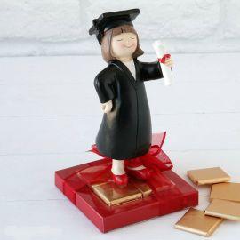 Figura chica graduada