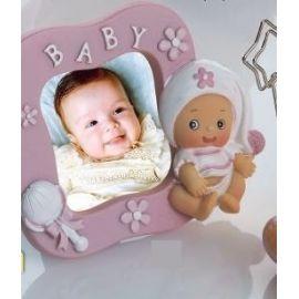 Portafotos bebé niña pijama