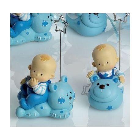 Portanotas bebé niño con animalito
