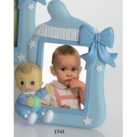 Portafotos bebé lazo