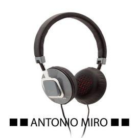 Auriculares Antonio Miró color gris
