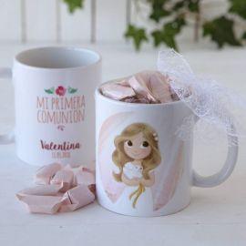 Grabación taza comunión