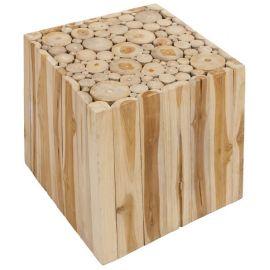 Mesa cubo natural