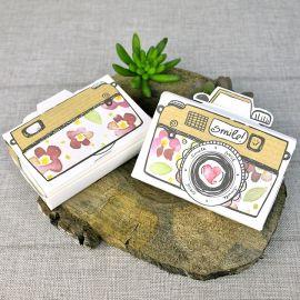 Invitación boda camara de fotos