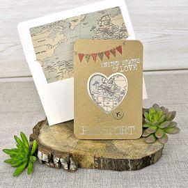 Invitación boda novios