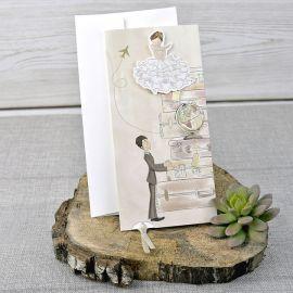 Invitación boda NOS VAMOS