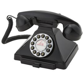 Teléfono Vintage negro