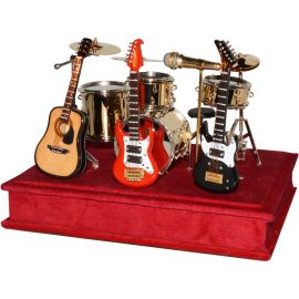 Batería miniatura música