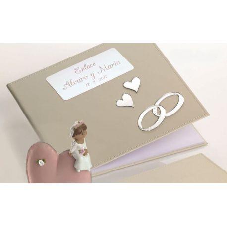 Libro firmas boda con grabación