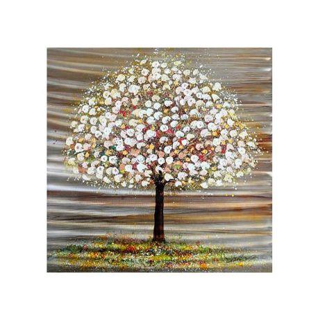 Cuadro óleo/alum árbol