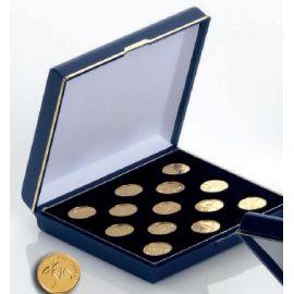 Juego arras doradas 18mm presentadas en elegante estuche