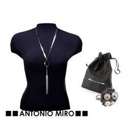 """Conjunto de collar y anillo  """"Steel""""  ANTONIO MIRO"""