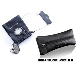 """Conjunto de collar y anillo  """"Helant"""" y estuche de regalo  ANTONIO MIRO"""