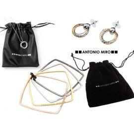 """Conjunto de collar, pendientes y pulsera """"Diva"""" ANTONIO MIRO"""