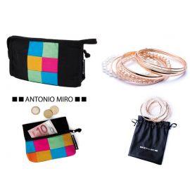 Conjunto de neceser, monedero y pulsera  ANTONIO MIRO