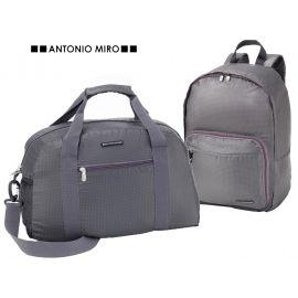 "Juego de mochila y bolsa plegable ""Travel"" ANTONIO MIRO"