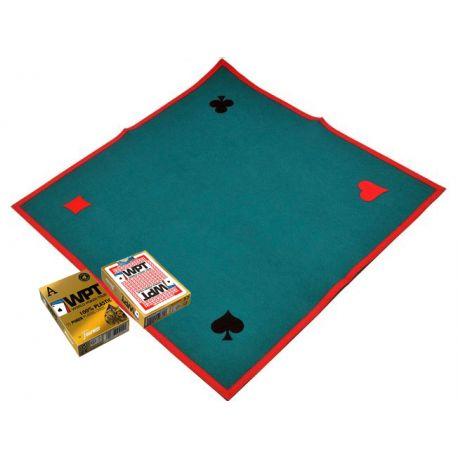 Juego de tapete y baraja poker World Poker Tour