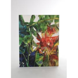 """Cuadro oleo sobre lienzo pintado en acrílico """"Plantas"""""""