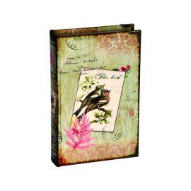"""Caja fuerte libro con llave """"Antic"""""""