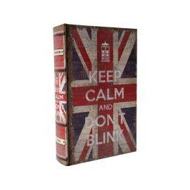 """Caja fuerte libro con llave """"UK"""""""