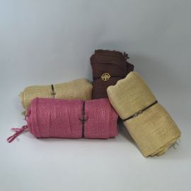 Conjunto pulsera elástica con foulard liso
