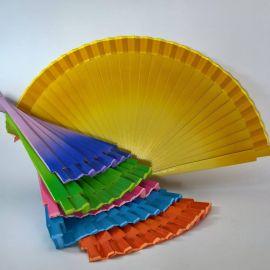 Abanico *Dégradé* colores variados