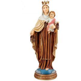 Figura Virgen del Carmen - 40cm - Resina alta calidad pintada a mano