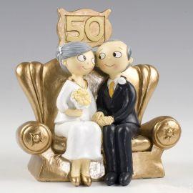 Novios 50 aniversario