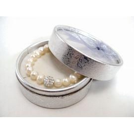 Pulsera perla y cristal