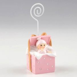 Portanotas rosa cajita