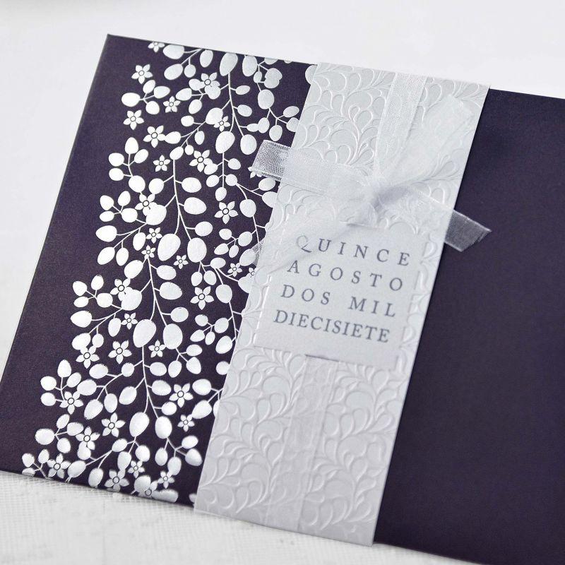 invitacin boda elegante invitacin boda invitacin boda - Invitaciones De Boda Elegantes