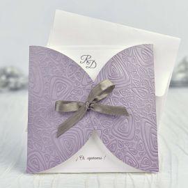 Invitación boda lazo