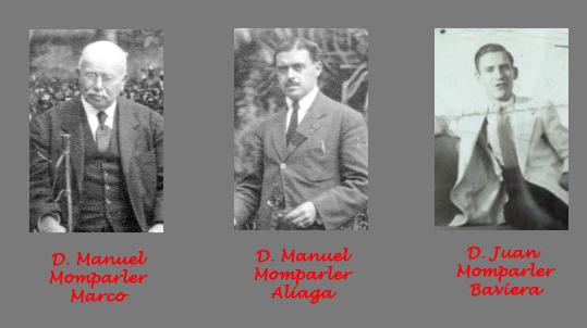 Nuestras tres generaciones de Momparler